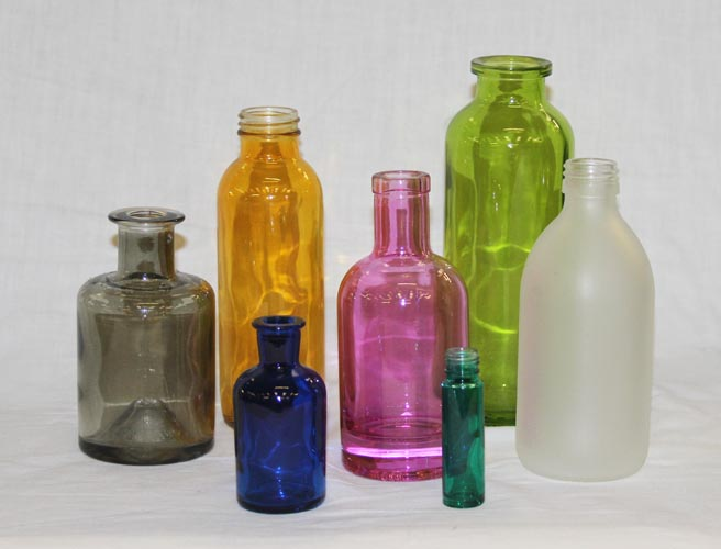 Coloured Bottles